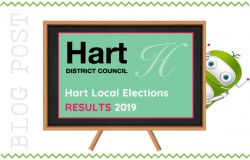 Hart District Council Local Elections 2019. Results.