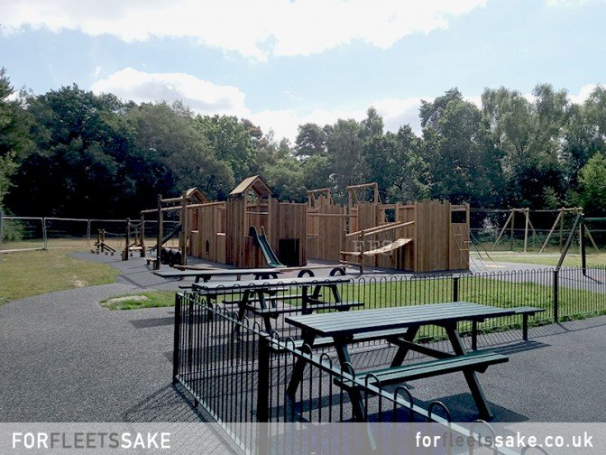 CALTHORPE PLAY PARK Fleet Hampshire