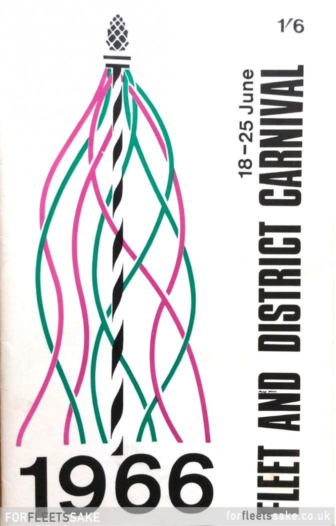 Fleet and District Carnival Programme cover 1966.