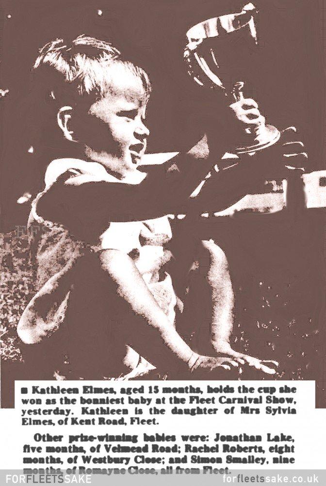 FLEET CARNIVAL BABY SHOW- 1967.