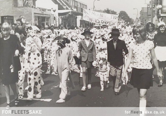 Fleet Carnival History 1974 Fleet, Hampshire, Hants.