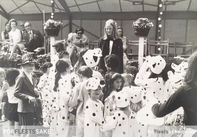 Fleet Carnival History 1974. Fleet, Hampshire, Hants.