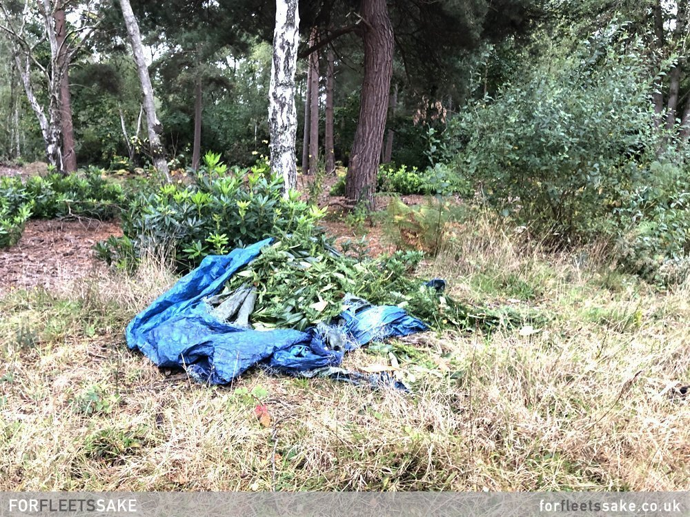Clean Up After Travellers Move On from Elvetham Heath - Fleet Hampshire News - For Fleet's Sake