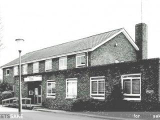 FLEET POLICE STATION CIRCA 1970. The police station in Crookham Road, Fleet Hants circa 1970. Fleet Hampshire History.