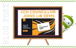 Katie Davies, Community Campaign Hart Councillor, Joins the Liberal Democrats.