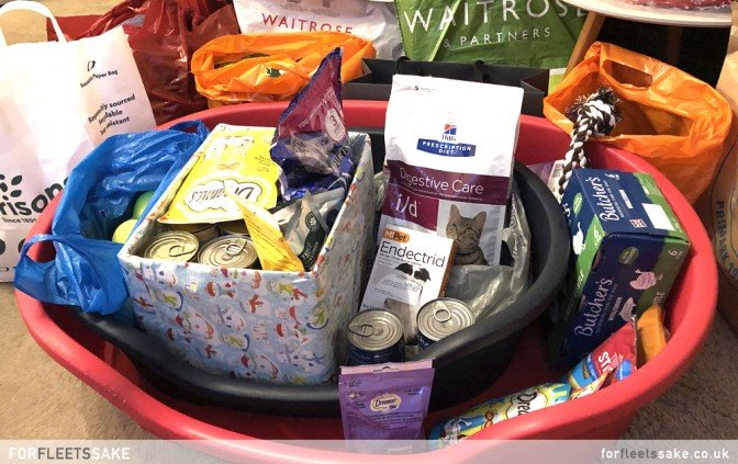 CHRISTMAS CHARITY CHALLENGE 2019. The 'For Fleet's Sake' Christmas Charity Challenge 2019. Collected donations for Next Chapter Animal Rescue.