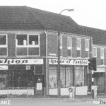 HOUSE OF FASHION AND EMPTY SHOPS - CIRCA 1970