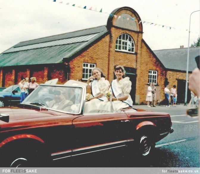 Fleet Carnival procession, 1988, Fleet Hants Hampshire.