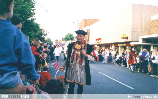 FLEET CARNIVAL PROCESSION - 1999. Fleet Carnival Procession, Fleet, Hampshire..