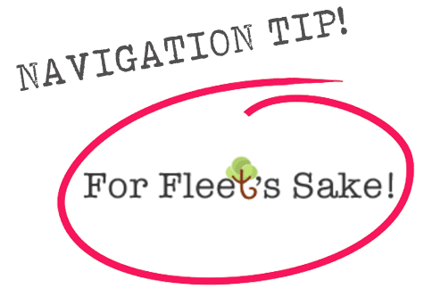 For Fleet's Sake! - Navigation Tip
