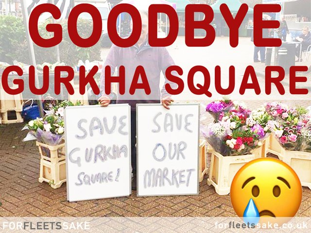 Hart District Council and Fleet Town Council Council Plans to Build on Gurkha Square with New Harlington Project. Fleet Hampshire.
