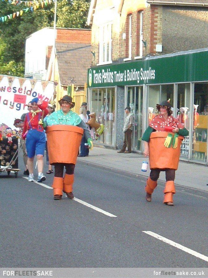 Fleet Carnival Procession 2005. Fleet, Hampshire, Hants.
