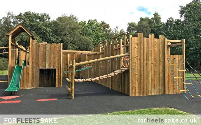 CALTHORPE PLAY PARK OPENING DAY 08/09/20