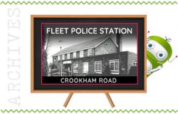 Fleet Police Station at Crookham Road