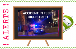 Accident in Fleet High Street