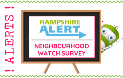 Hampshire Alerts Neighbourhood Watch Survey