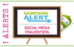 Hampshire Alert - Social Media Fraudsters