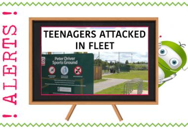 Teenagers Attacked in Fleet