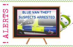 Blue Van Theft Suspects Finally Caught