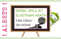 Elvetham Heath Diesel Spill - Fleet Hants