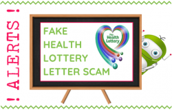Fake Health Lottery Scam - Fleet Hampshire