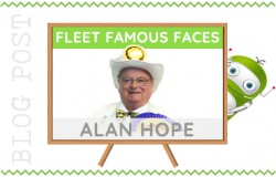 Fleet Hampshire Famous Face - Alan Hope
