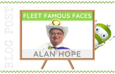 Fleet Hampshire Famous Face - Alan Hope