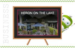 Heron on the Lake Pub