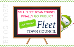 Will Fleet Town Council Finally Go Public?