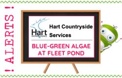 Hampshire Countryside Alert Blue Green Algae Fleet Pond - Fleet, Hampshire