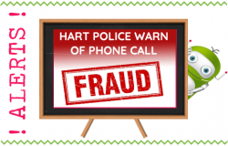 Hart Police Warn of Phone Call Fraud