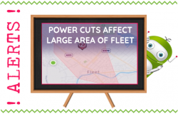 Power Cuts in Fleet