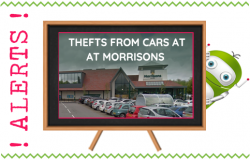 Thefts From Cars Morrisons Elvetham Heath