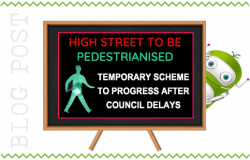 Full Steam Ahead For Pedestrianisation