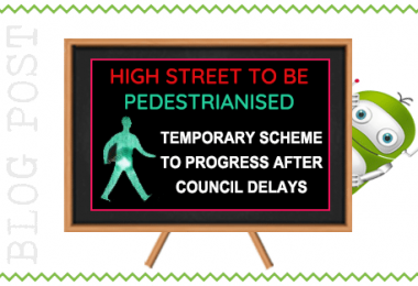 Full Steam Ahead For Pedestrianisation