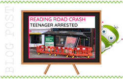 Teenager Arrested After Fleet Crash