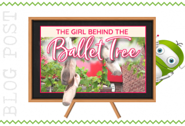 The Girl Behind The Ballet Tree
