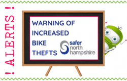 Warning of Increased Bike Thefts in Fleet