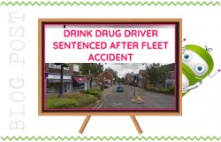Drink and Drug Driver Gets 30 Months for Fleet Accident