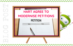 Hart Agrees to Modernise Petition Scheme