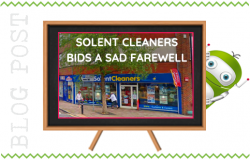 Solent Cleaners Closes in Fleet