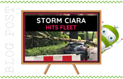 Storm Ciara Hits Fleet