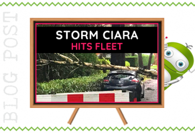 Storm Ciara Hits Fleet