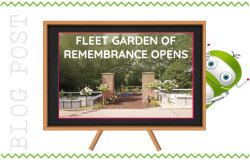 Fleet Garden of Remembrance Opens, Fleet Hampshire