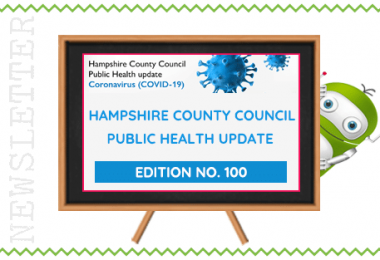 Hampshire County Council - Public Health Update 100