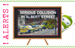 Serious Collision in Albert St Fleet