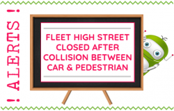 Fleet High Street Accident Between Car and Pedestrian