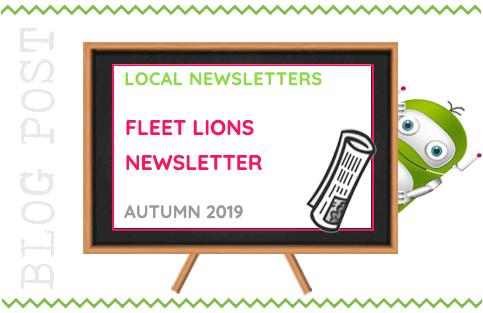 Fleet Lions Newsletter - Autumn 2019