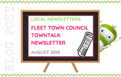 Local Newsletter, Fleet Town Council TownTalk - August 2018