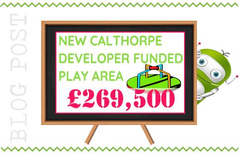 Calthorpe Park New Play Area, Fleet Hants